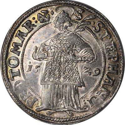GERMANY. Halberstadt. Taler, 1629-CZ. Leopold Wilhelm von Osterreich.