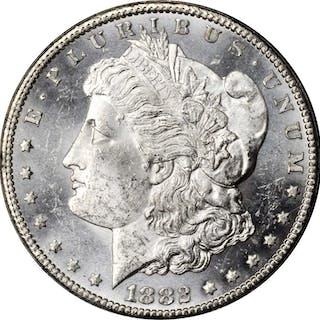 1882-CC GSA Morgan Silver Dollar. Mint State (Uncertified).