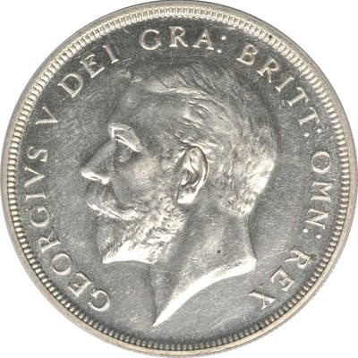 GREAT BRITAIN. Crown, 1927. PCGS PROOF-63 Gold Shield.