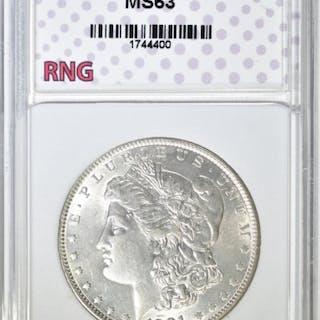 1901 MORGAN DOLLAR RNG CH BU NICE WHITE COIN