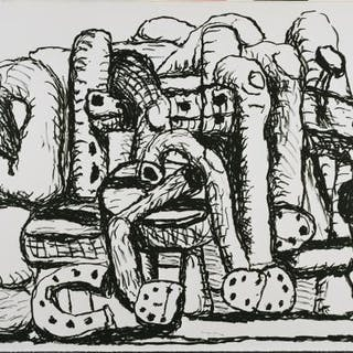 Pile Up - Philip Guston