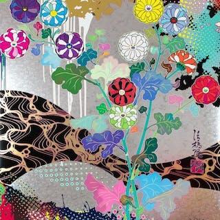 Korin: Pure White - Takashi Murakami