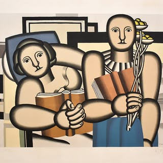 The Reading - Fernand Léger