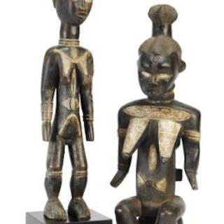 Two female ancestor figures