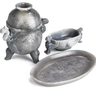 A Chinese censer