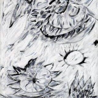 """Carl-Henning Pedersen: """"Himmel fugl"""" (Sky bird)"""