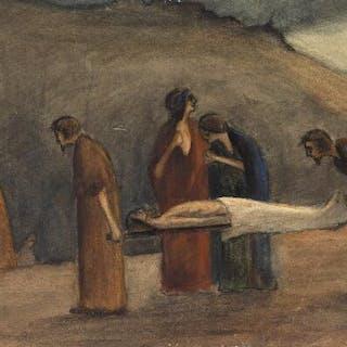 Karl Isakson: Religious scene