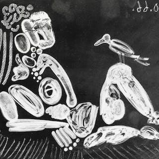 """Pablo Picasso: """"Femme à l'Oiseau"""""""