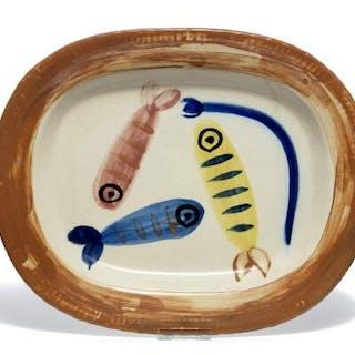 """Pablo Picasso: """"Quatre poissons polychromes"""""""