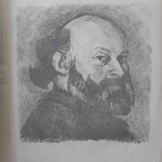 Edouard Vuillard: Portrait of Paul Cezanne
