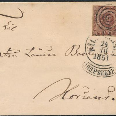 1851. 4 RBS Ferslew. Superb cover.