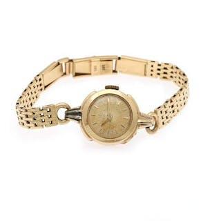 Omega: A lady's wristwatch of 80 micron