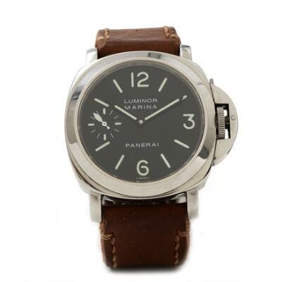 Panerai: A gentleman's wristwatch of steel