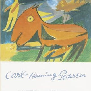 Carl-Henning Pedersen: Exhibition poster