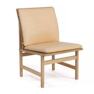 Børge Mogensen: Lounge chair with oak frame