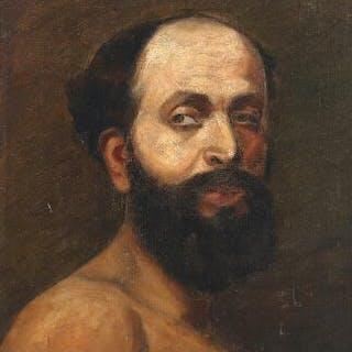 Axel Borg: Portrait of a man with a beard
