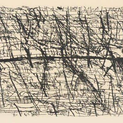 """Antoni Tapies: """"Graphismes et deux croix"""""""
