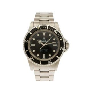 Rolex: A gentleman's wristwatch of steel
