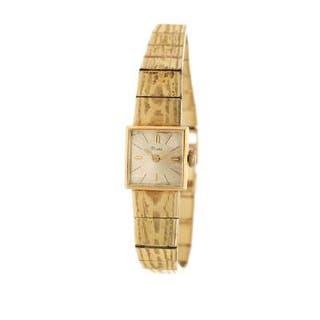Rome: A lady's wristwatch of 14k gold