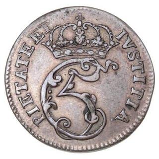 Christian V, Mark 1676, H 70, Sieg 17.2, Aagaard 11