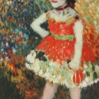 "Pablo Picasso: ""Dwarf Dancer"""