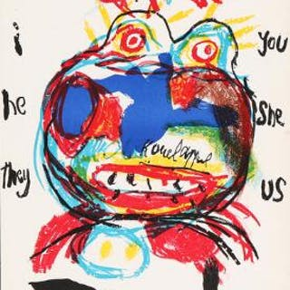Karel Appel: Composition from One Cent Life