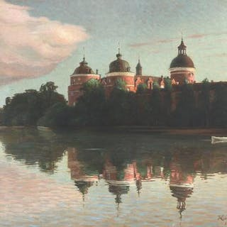 Kai Lange: View from Gripsholm Castle