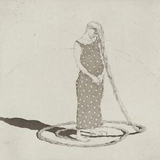 """Michael Kvium: """"Kvinder del 1 & 2,"""" 1996"""