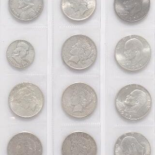 Collection of silver-coins