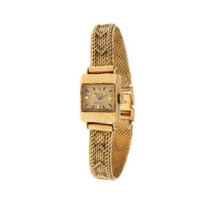 Rolex: A lady's wristwatch of 18k gold