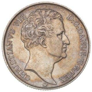 Christian VIII, speciedaler 1847 VS, H 3F