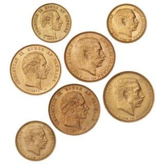 20 kr 1873 and 1877 CS