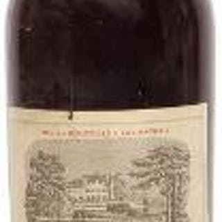 1 bt. Château Lafite Rothschild, Pauillac. 1. Cru Classé 1952 B (ts/us).