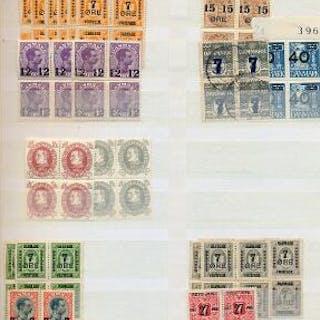 Denmark. 1875–2008. 8 stockbooks.