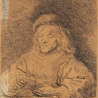 Rembrandt van Rijn: The cardplayer