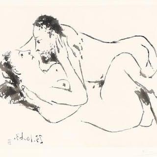 """Pablo Picasso: """"Étreinte"""