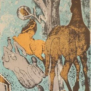Axel Salto: Three horses