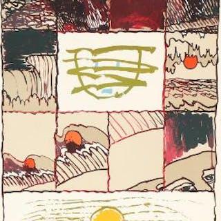 Pierre Alechinsky: Composition