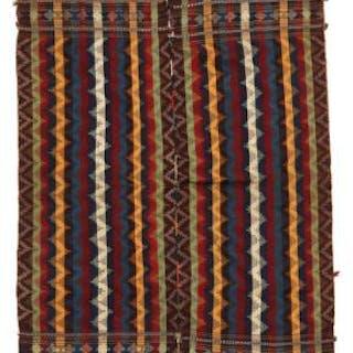 A Persian Jajim weaving