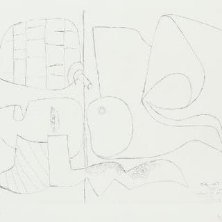 """Le Corbusier: """"Mask and pine cone"""""""