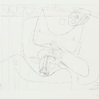 """Le Corbusier: """"Naissance du Minotaure – """"Taureau XIII"""""""