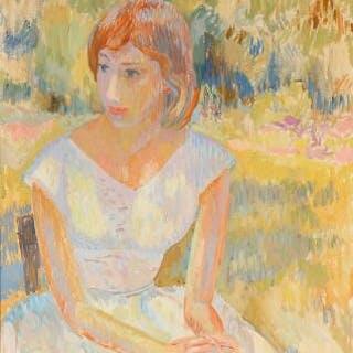 Viggo Rørup: Portrait of Marianne