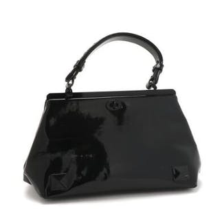 Bottega Veneta: A bag of black leather