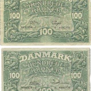 100 kr 1957 o