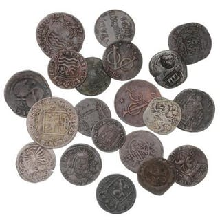 Netherlands, collection of 50 coins, Deut - 6 Steuber 1578–1805. (20)