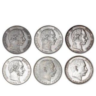 2 kr 1875–1876 CS