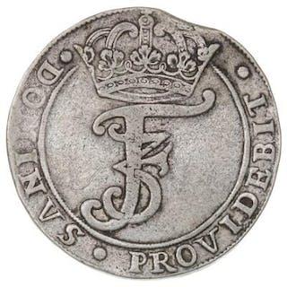 Frederik III, 4 mark / krone 1666, H 113A, Sieg 59.1, Aagaard 105.1