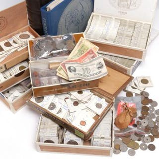 Collection of coins incl