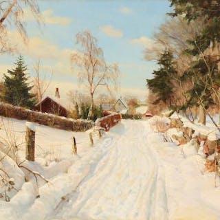 Harald Pryn: Winter landscape