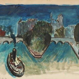 Jens Søndergaard: View from Seine